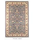 RugStudio presents ORG Handtufted 797 Gray-Blue Hand-Tufted, Better Quality Area Rug